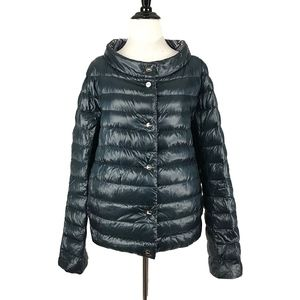 Print Reversible Down Jacket by Herno